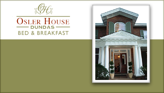 Osler House B&B in Dundas Ontario