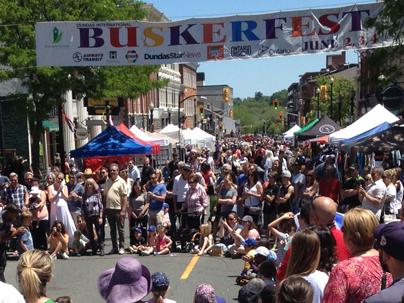 Buskerfest-In-Downtown-Dundas Ontario