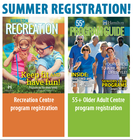 City of Hamilton Summer Programs Registration 2017