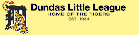 Dundas Little League Baseball in Dundas Ontario: Hoe of the Tigers