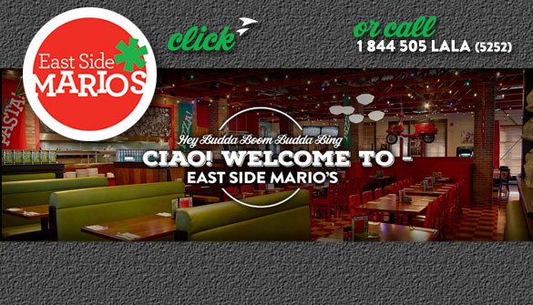 East Side Marios Italian Food In Dundas Ontario